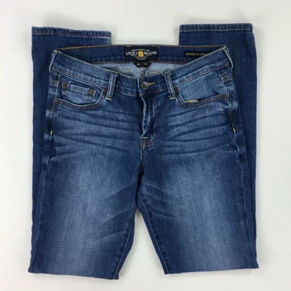 Lucky Brand Denim - Lucky Brand Womens 28 Sweet n Straight Blue Jeans